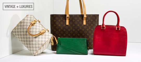 Handbags by Louis Vuitton:Picks by Bella Bag