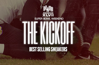 The Kickoff: Best Selling Sneakers