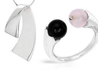 Designer Silver Jewelry by Cacharel, Zoccai, Lauren G.Adams