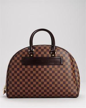 Louis Vuitton Damier Ebene Keepall 55 $1,399