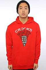 The Mayan Medusa Pullover in Red