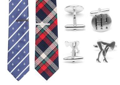 Shop Class Act: Pocket Squares+Cufflinks