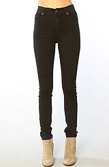 The Core Second Skin Jean in Very Stretch Black