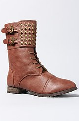 The Titan Boot in Cognac