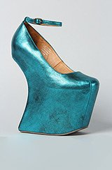 The Streetcred Shoe in Teal Metallic (Exclusive)