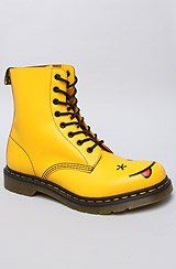 The Smiley 8-Eye Boot in Yellow