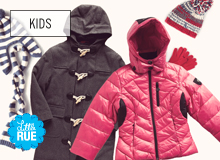 Goodbye Winter, Hello Sale Style for Kids