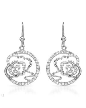 Ladies Earrings Designed In 925 Sterling Silver
