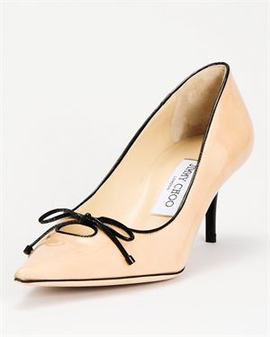 Jimmy Choo Patent Leather Heel - Made In Italy
