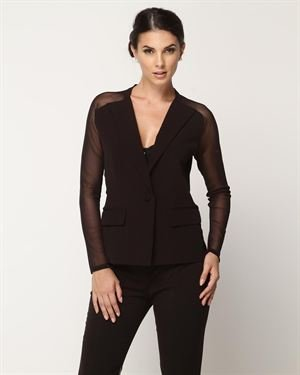 Insight Sheer Sleeve Blazer