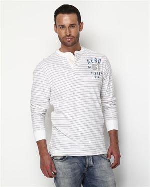 Aeropostale Long-Sleeved Cotton Shirt