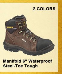 "Manifold 6"" Waterproof Steel-Toe Tough"
