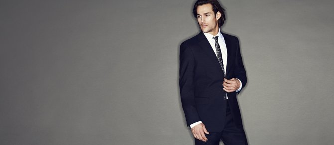 Navy Suits & Apparel