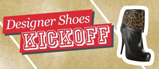 Designer Shoe Kickoff