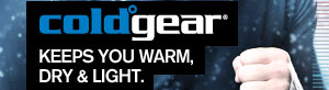 COLDGEAR® - KEEPS YOU WARM, DRY AND LIGHT.