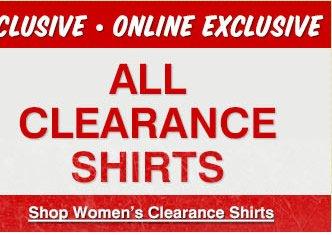 Women's Clearance