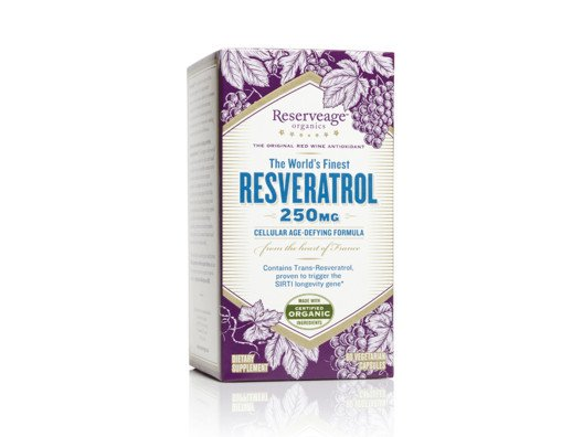 The World's Finest Resveratrol by Reserveage Organics from Robin McGraw