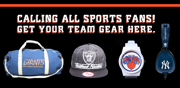 It's Game Time! Shop Your Team Gear Here