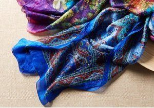Wrapped in Style: Silk Scarves by Janie Besner