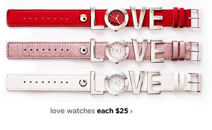 love watches each $25›