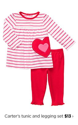 Carter's tunic and legging set $13›