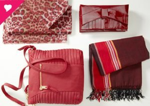 SHADES OF RED: HANDBAGS, SHOES & MORE