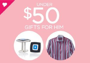 UNDER $50: GIFTS FOR HIM