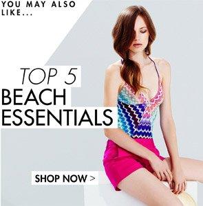 TOP 5 BEACH ESSENTIALS