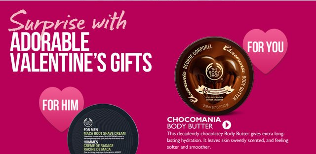 FOR YOU  --  CHOCOMANIA BODY BUTTER