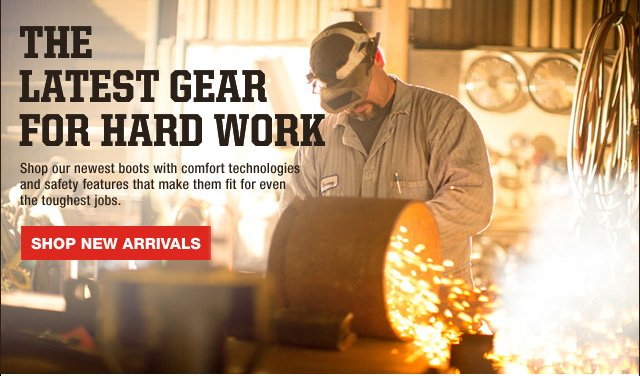 The Latest Work Gear for Hard Work