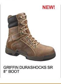"""Griffin DuraShocks SR 8"""" ST EH Boot"""