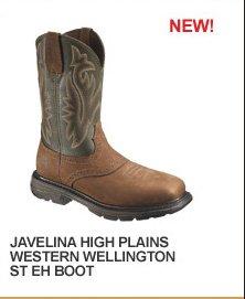 Javelina High Plains Western Wellington ST EH Boot