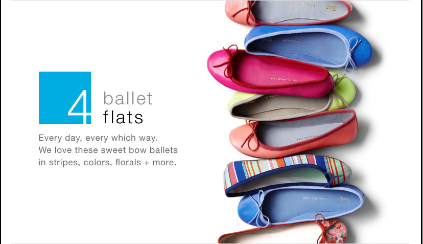 4- ballet flats