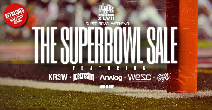 The Superbowl Sale Refresh