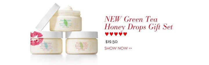 NEW Green Tea Honey Drops Gift Set ♥♥♥♥♥ $19.50. SHOW NOW.