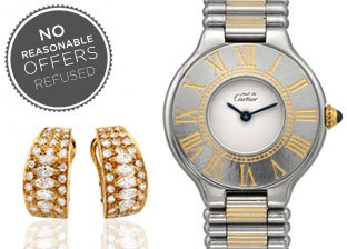 No Reasonable Offers Refused: Tiffany, Cartier, Chopard & more Jewelry & Watches