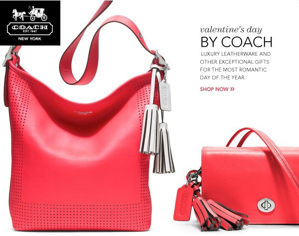 Valentine's day By Coach - Luxury leatherware and other  exceptional gifts for the most romantic day of the year. Shop now