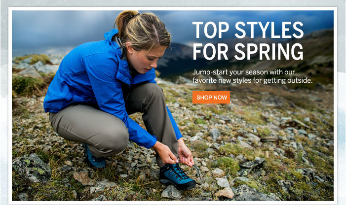 Top Styles for Spring Shop Now