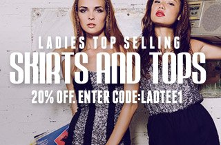 Ladies Top Selling Skirts and Tops