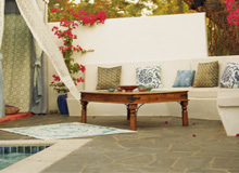 Prepare the Pool Outdoor Rugs & Pillows