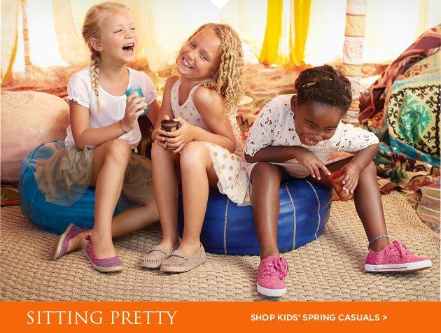 Sitting pretty - Shop spring kids' arrivals