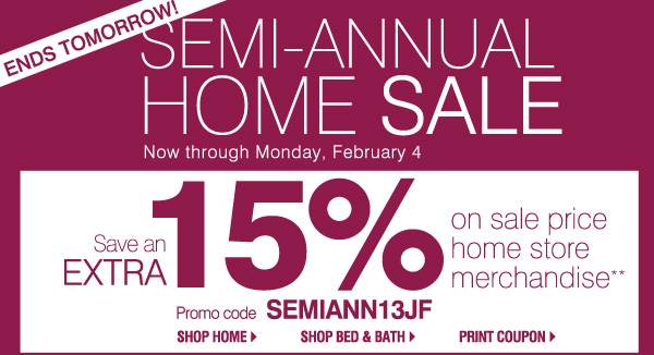 STARTS TODAY! SO MANY WAYS TO SAVE! Thursday, January 31 - Saturday, February 2. 3 DAYS IN-STORE ONLY!