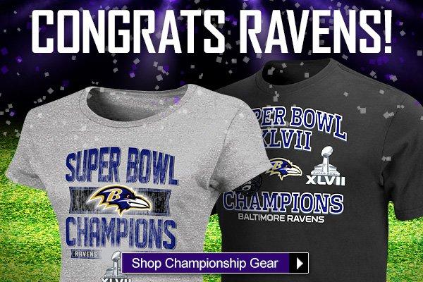 Congrats Ravens