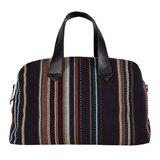 Paul Smith Bags - Black Maharam Stripe Holdall