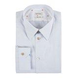 Paul Smith Shirts - Pale Grey Cotton Shirt