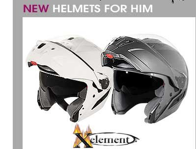 New Helmets for Him by Xelement