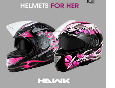 Hawk Helmets for Her