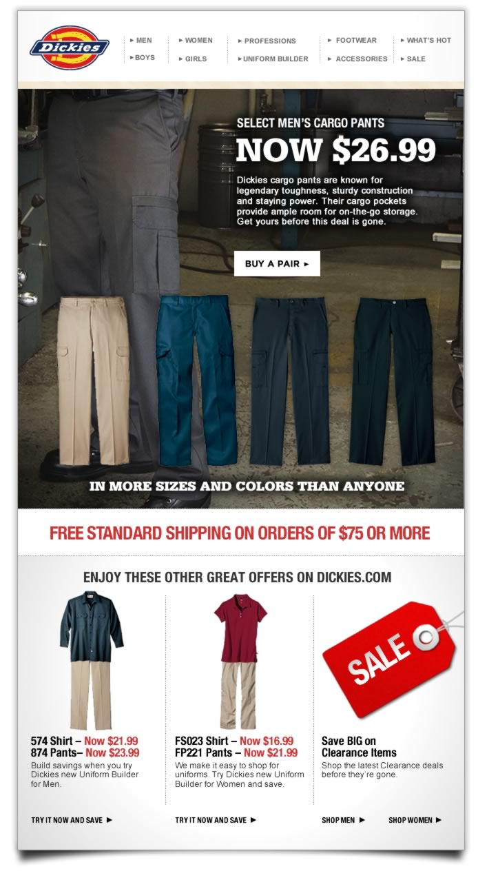 Dickies Offers