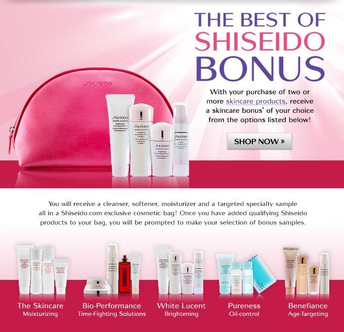 The Best of Shiseido Bonus
