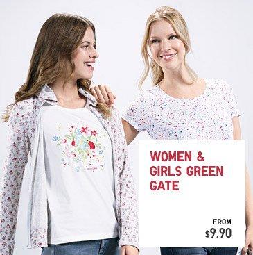 WOMEN & GIRLS GREENGATE